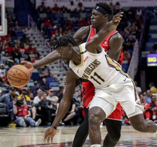 Pelicans finish preseason with loss to Raptors, 0-5 record ...