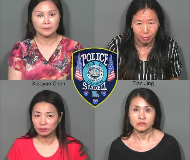 Slidell Police Make Arrests At Massage Parlors Following Undercover Operation