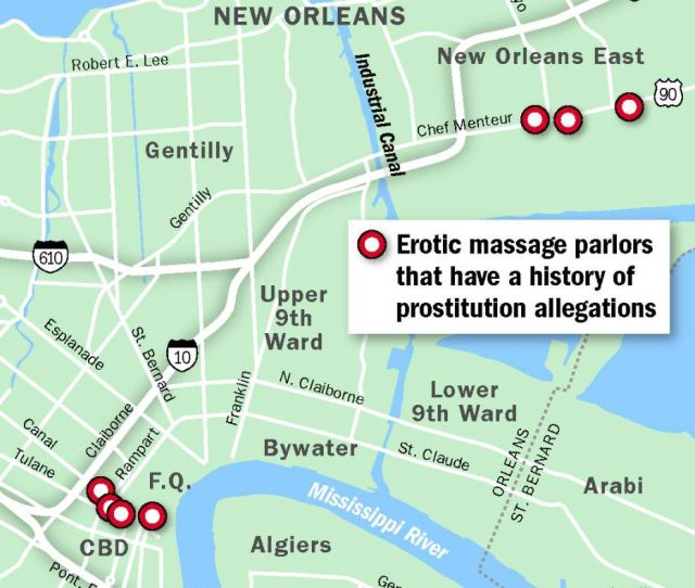 Erotic Massage Parlors Retain Strong Foothold In New Orleans As Police Focus Dwindling Resources Elsewhere