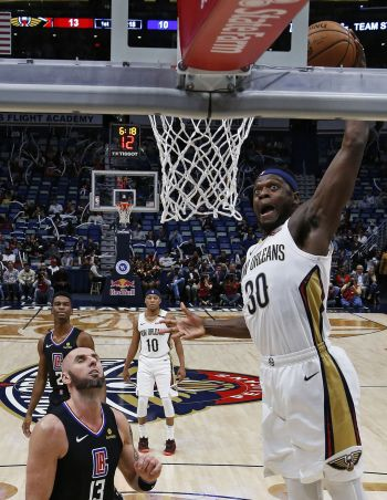 497890779dc3 Julius Randle s career-high 37 points not enough for Pelicans in 129-126  loss to Clippers