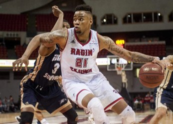 Image result for louisiana lafayette basketball