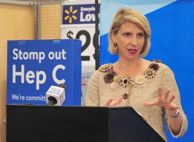 Louisiana Department of Health announces free Hepatitis C screening program with Walmart