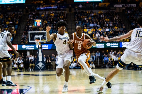 West Virginia downed by Texas 67-57