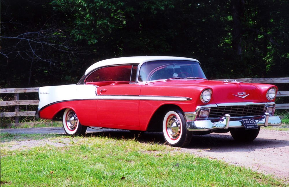 CLASSIC CARS  1956 Chevrolet Bel Air restored to like new condition     CLASSIC CARS  1956 Chevrolet Bel Air restored to like new condition