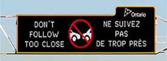 CSL, Hampstead call for bilingual traffic safety signs