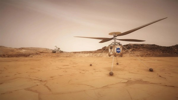NASA planning to send a helicopter to Mars