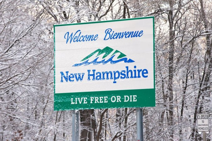 FILE Welcome to New Hampshire