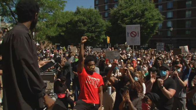Black Lives Matter Louisville holds 'healing ceremony' after three nights of protests | News | wdrb.com