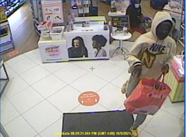 Thieves snatch $7,500 from beauty store in Lisbon