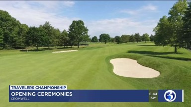 Travelers Championship holds opening ceremony