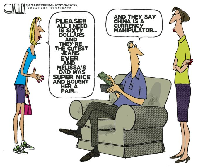 Image result for currency manipulators cartoon