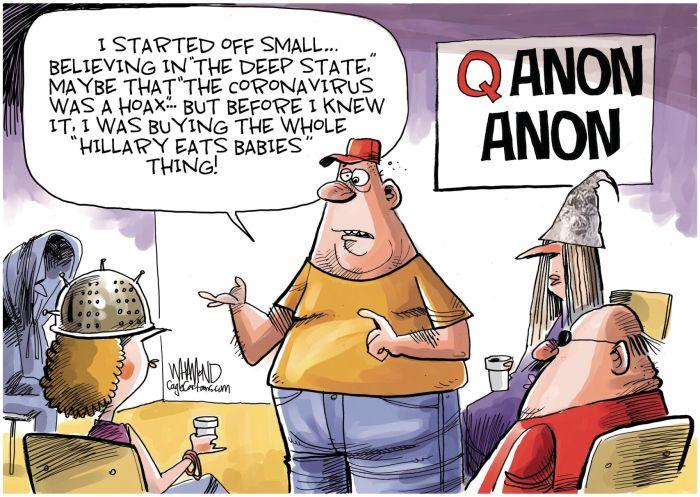 Editorial cartoon: Anon anon meeting | Venice Gondolier Sun | yoursun.com