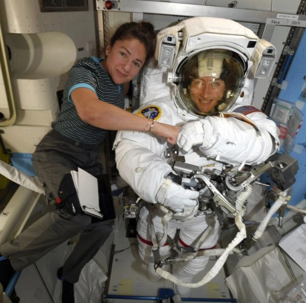 NASA sets 1st all-female spacewalk