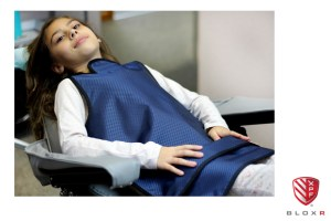 XPF Patient Poncho for dental radiation protection