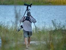 Paul setting off to do some birding at Sibiya - Jane Morris