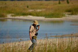 Rob contemplating - Lake Sibaya- Jane Morris