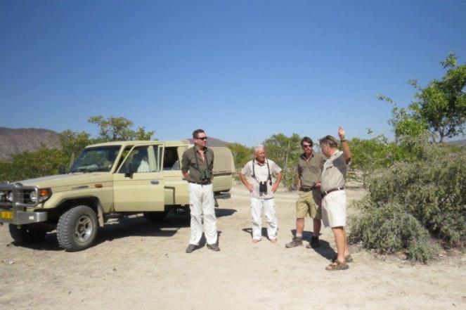 Zebra Mountains. (L to R) Peter, Paul, Sean & Peter Morgan
