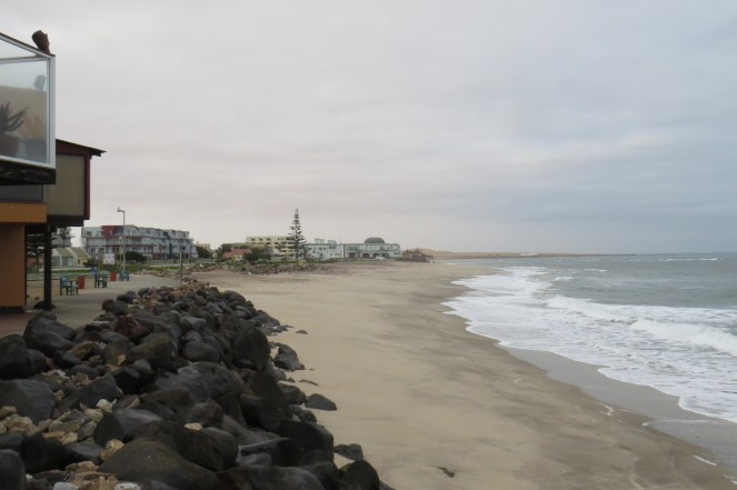 Beachfront - Swakopmund - from the end of the jetty
