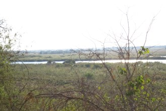 View of the floodplain from Shamvura
