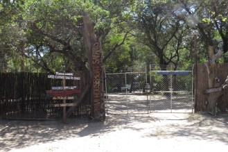 Entry Gate to Caprivi Houseboat Safari Lodge