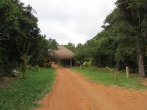 Entrance to Zona Braza