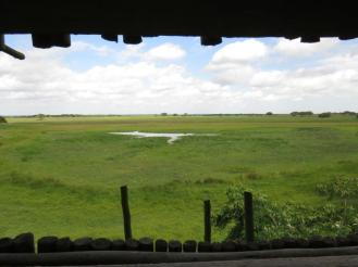 View from Mafazana Hide