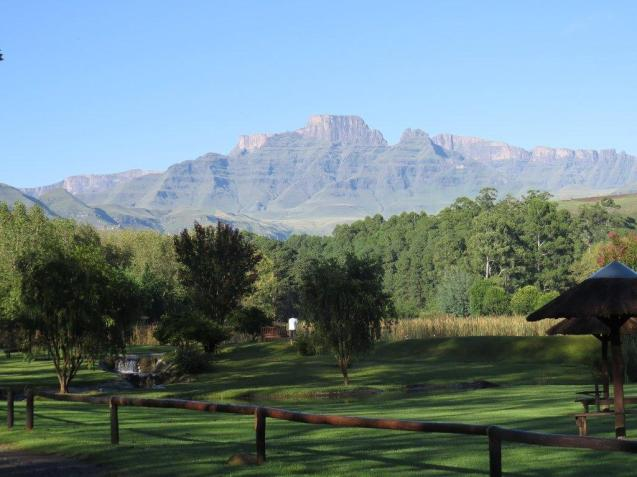 Cathkin Peak from Dragon Peaks