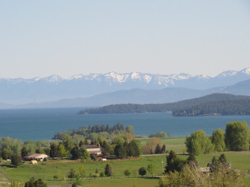 Flathead Lake from the south
