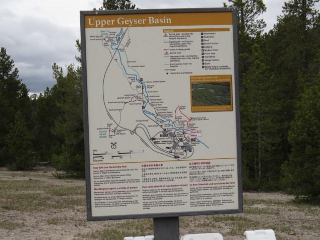 Yellowstone NP. Upper basin