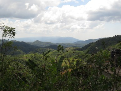 On the way to the Cockpit Country - Accompong