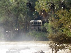 Epupa Falls campsite and restaurant