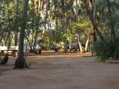 Epupa Falls campsite