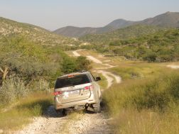 Epupa Falls road to Kunene River Lodge