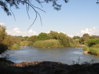 Orange River at Kheis