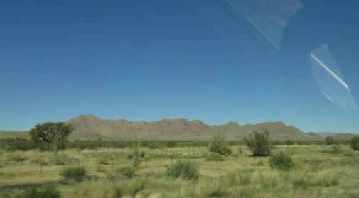 On the way to Etosha