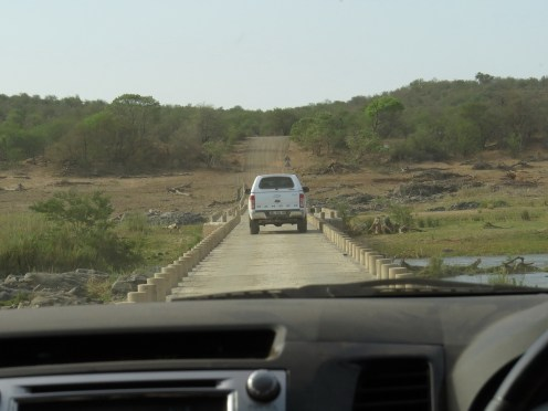 Balule bridge crossing