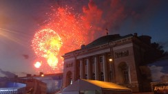Victory Day Fireworks