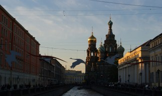 view of the Church of the Saviour on Spilled Blood