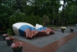 Yeltsin's final resting place