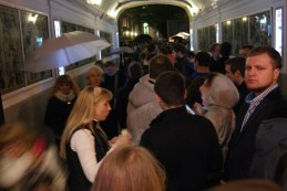 Museum night queues can be long