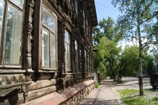 Wooden neighbourhood