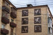 Krasnoyarsk was full of little, arty details, some old, some new.