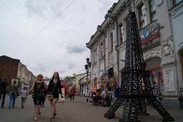 If you're called Paris of Siberia, you need a suitable monument.