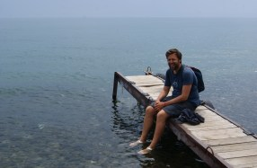 The south Baikal water is just as cold as the mid-Baikal water.