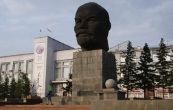 Obligatory Lenin statue, but this one stands out.