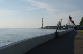 The Amur river.