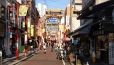 Yokohama's Chinatown. Colourful, but still very Japanese.