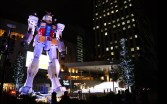 It wouldn't be Tokyo without at least one 18 m robot. This is Gundam outside a shopping mall in Odaiba.