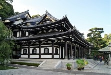 Hase-dera temple, beautiful and well kept.