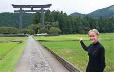 Starting our day on the Kumano Kodo.